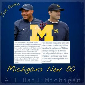 Josh Gattis Is Going To Be Our Savior On Offense For 2019 Michigan Wolverines Football Team.