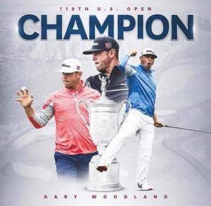 Gary Woodland Won The 119th U.S Open Golf Championship On Father's Day At Pebble Beach.