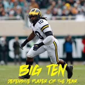 Devin Bush Jr Is A Good One To Have On The Pittsburgh Steelers 3-4 Defense.