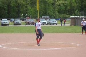 Brynn Polega Was Unbelievable In The Division 4 State Tournament In The Last 3 Weeks For The USA Patriots Softball Team.