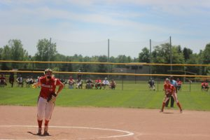 Gabbie Sherman Is One Of The Best Pitchers In The State Of Michigan For The Millington Cardinals Softball Team.