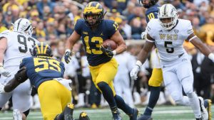 Tru Wilson Has To Step Up At RB For The 2019 Michigan Wolverines Football Team With Head Coach Jim Harbaugh.