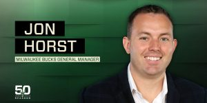 Jon Horst Won Executive Of The Year In The NBA For The Milwaukee Bucks This Past Season.