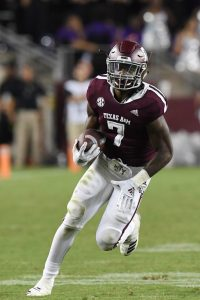 Jashaun Corbin Is Going To Fill In For Trayveon Williams At RB For The Texas A&M Aggies Football Team In 2019 At College Station, TX.