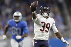 Eddie Jackson Is A Good Safety For The Chicago Bears.