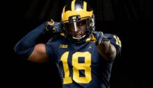 Luiji Vilain Is Going To Have A Good 2019 Campaign At Defensive End For The Michigan Wolverines Football Team.