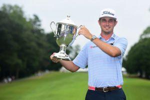 JT Poston Won His 1st Career PGA Tour Title On Sunday At The Wyndham Tournament.