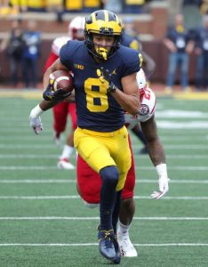 Ronnie Bell Is Making A Good Impact To Being A Good WR For The Michigan Wolverines Football Team.