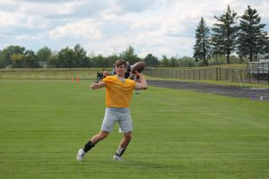 Will Damaska Has Expectations To Be A Special QB For The North Branch Broncos Football Team.