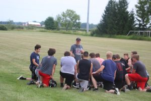 Craig Jacobson Is Going To Have A Young Squad For The 2019 Sandusky Redskins Football Team.