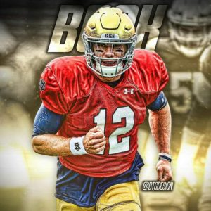Ian Book Carried The Notre Dame Fighting Irish To A Victory On The Road Against The Louisville Cardinals On Labor Day Night.