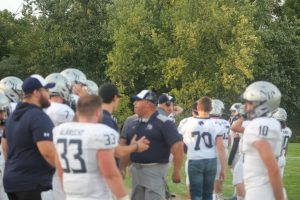 Scott (Bubba) Goins Has Done A Good Job As Defensive Coordinator For The 2019 North Branch Broncos Football Team.