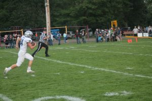 Brandon Martin Ran The Football Very Well For The North Branch Broncos Football Team To A Victory On The Road In Yale On Friday Night.