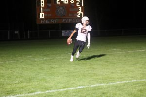 Michael Anderson & Devin Pfaff Lead The Way In The GTCE Division Championship Game On Friday Night At Jerry Herp Field In Ubly.