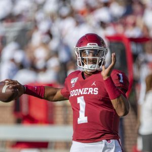 Jalen Hurts Was Brilliant In His Debut At QB For The Oklahoma Sooners Football Team On Sunday Night.