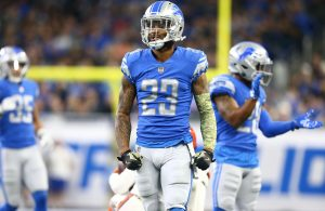 Darius Slay Has Made Clutch Interceptions In The Past Years For The Detroit Lions.