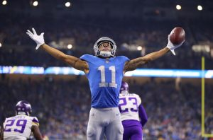 Marvin Jones Jr Was Brilliant For The Detroit Lions In A 42-30 Lost To The Minnesota Vikings On Sunday At Ford Field In Detroit.