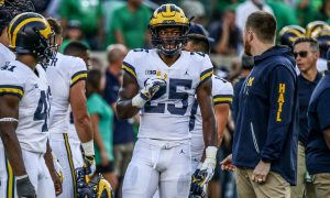 Hassan Haskins Has Come Along Ways To Be A Good RB For The 2019 Michigan Wolverines Football Team.