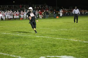 Harbor Beach Pirates Football Team On Defense Was Brilliant In The Victory Over The Saginaw MLS Cardinals At Home.