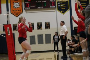 Allyson Kemp Has Become A Very Good Volleyball Player In The Last 2 Years For The USA Patriots.