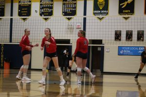 Kylie Bohn Has Become A Very Good Volleyball Player For The USA Patriots In 2019.