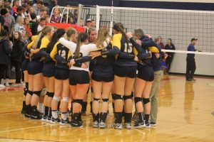 Saginaw Valley Lutheran Chargers Are Off Too The Division 3 Semifinals In Volleyball.