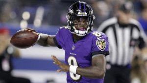 Lamar Jackson Was Unbelievable In His Monday Night Football Debut For The Baltimore Ravens.