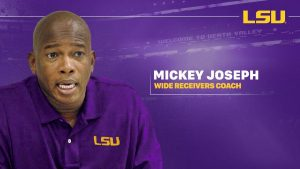 Mickey Joseph Is Got The Best WR Trio In College Football For The 2019 LSU Tigers Team In Baton Rouge.