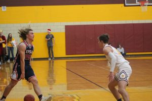Reese Rockets Boys Basketball Team Ended The USA Patriots Winning Streak On Friday Night At Reese HS.