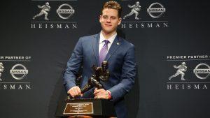 Joe Burrow Won The 2019 Heisman Trophy In New York City On Saturday Night.
