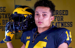 Roman Wilson Is Going To Be A Stud At WR For The Michigan Wolverines Football Team In The 2020 Class In Ann Arbor.