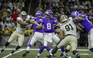 Kirk Cousins & The Minnesota Vikings Defense Carried The Team To A NFC Wild Card Playoff Game Victory On The Road.