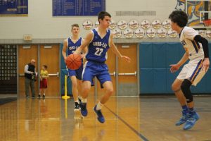 Saige Slanec Is Giving The Cros-Lex Pioneers Boys Basketball Team A Good Spark Off The Bench.