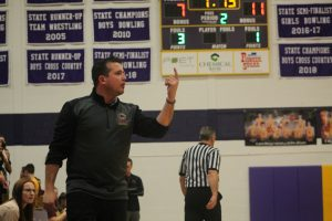Jay Riley Has Done A Remarkable Job As Head Coach Of The Caro Tigers Girls Basketball Team In The 2019-20 Season.