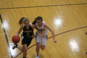 Olivia Jacobson Taking Over The Senior Leadership Role For The Sandusky Redskins Girls Basketball Team.