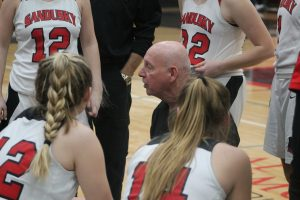 Al DeMott Is Doing A Super Good Job As Head Coach Of The Sandusky Redskins Girls Basketball Team This Season.