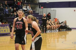 Abigail Bolsby Is Also Helping Out The Sandusky Redskins Girls Basketball Team This Season.