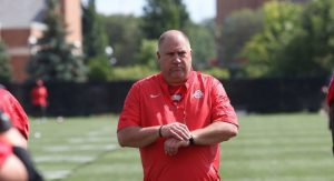 Greg Studrawa Is Good Offensive Line In The B1G Conference & Also One Of The Best Ones In The Nation.