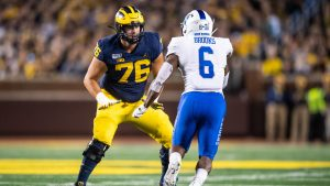 Ryan Hayes Is Going To Be A Star In The Makings For The Michigan Wolverines Football Team.
