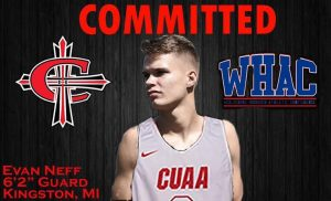 Evan Neff Is Going To Play College Basketball At Concordia University Ann Arbor.