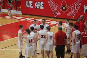 Zac Yorke Reach His Milestone On His Final Home Game As An Millington Cardinals Boys Basketball Player.
