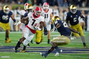 D'Andre Swift Would Fit Perfect On The Kansas City Chiefs At RB.