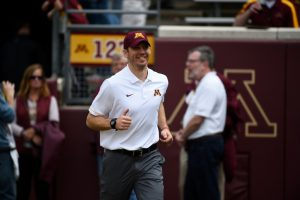 Matt Simon Is A Good Wide Receivers Coach In College Football For The Minnesota Golden Gophers.