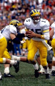 Elvis Grbac & Desmond Howard Good 1-2 Tandem For The 1991 Michigan Wolverines Football Team.