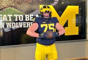 Zach Carpenter Is Going To Be A Good Center For The Michigan Wolverines Football Team In The Future.