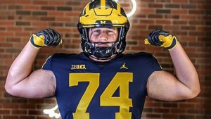 Greg Crippen Committed To The Michigan Wolverines Football Team At Offensive Guard.