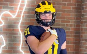 Louis Hansen Verbally Committed To The Michigan Wolverines Football Team At TE In The 2021 Class.