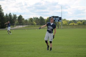David Petit Surprise Me A Lot A Year Ago At WR For The 2019 North Branch Football Team……