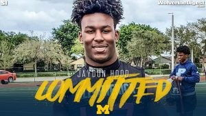 Jaydon Hood Will Be A Stud ILB In The Upcoming Years For The Michigan Wolverines Football Team In The 2021 Class In Ann Arbor.