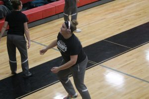 Olivia Bovenschen Is A Good Role Player For The Brown City Green Devils Volleyball Team.